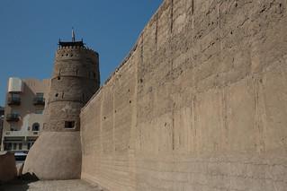 Image of Al Fahidi Fort. wall dubai fort uae coralstone alfahidi dubaimuseum