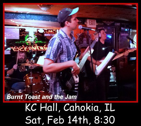 Burnt Toast and the Jam 2-14-15