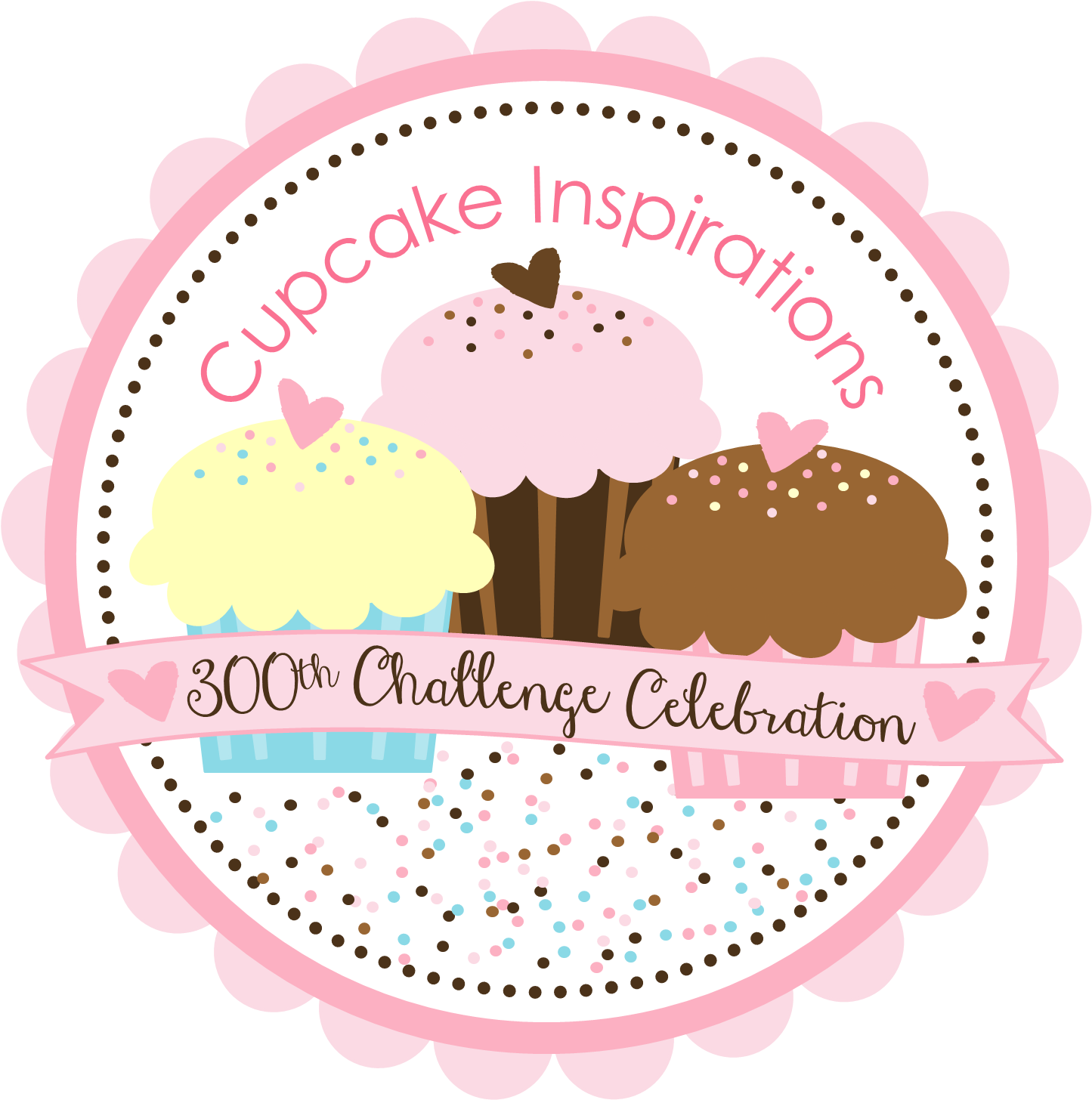 300th Challenge Celebration Badge