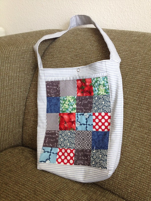 Patchwork Bag Finished