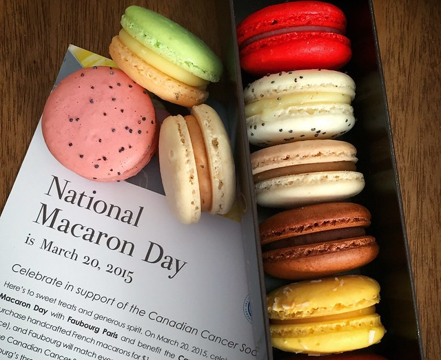 Macaron Day is coming up March 20th