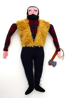 teddy bear lumberjack