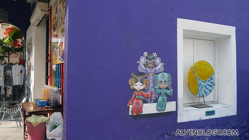 Cute mural