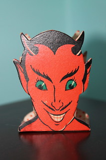Dolly Toy Devil Nut Cup Front
