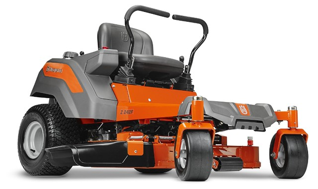 Husqvarna has a new range of residential, zero-turn riding mowers