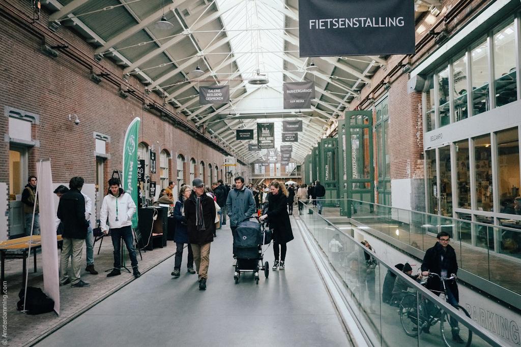 Amsterdam, De Hallen