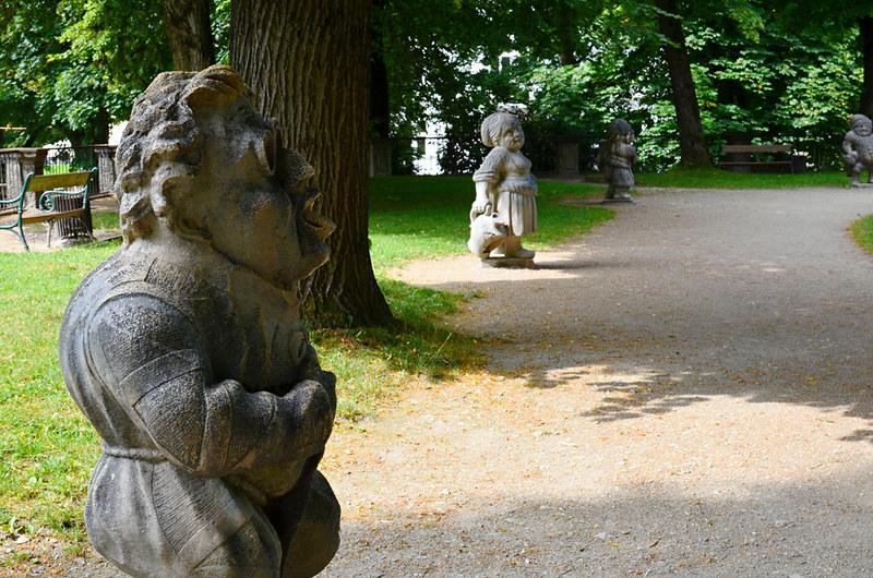 Dwarf Garden, Mirabell Gardens, Salzburg, Austria