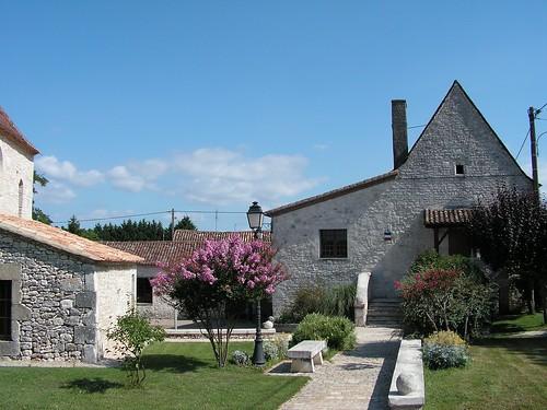 Vue sur le village de Cunèges