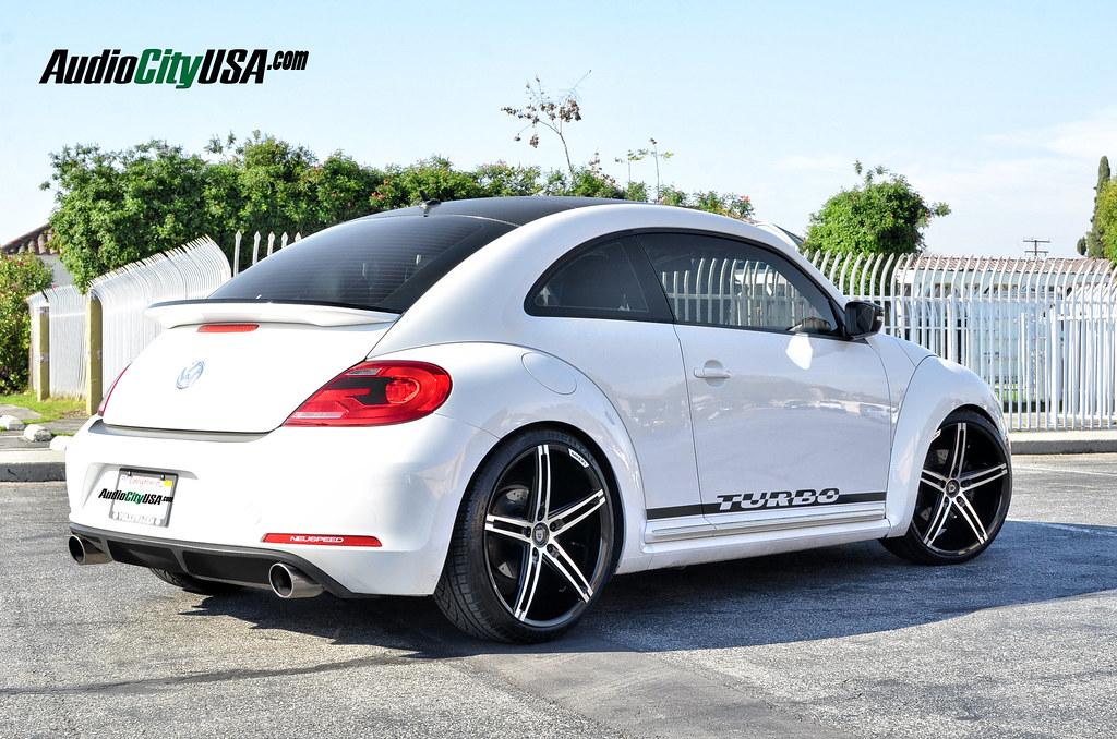 2013 Volkswagen Beetle Turbo On 20 Quot Lexani R Three Black