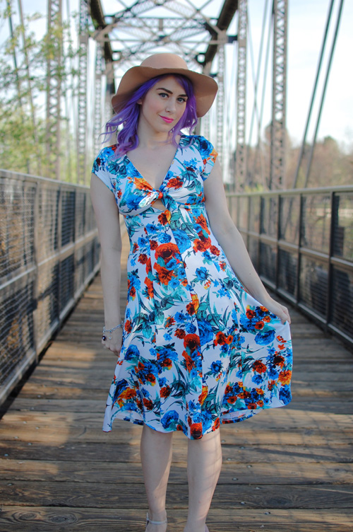 Bettie Page Modcloth In the Spring of Things dress