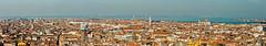 A panorama of Venice