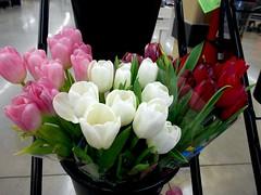 tulip(1.0), flower arranging(1.0), flower(1.0), floral design(1.0), plant(1.0), flower bouquet(1.0), floristry(1.0), petal(1.0),
