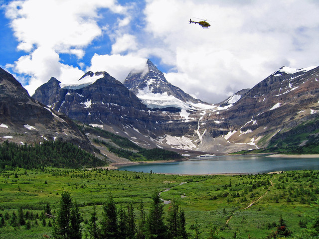 QuotLeaving By Helicopterquot  Mt Assiniboine Provincial Park British