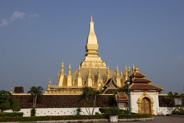 LAO100 Pha That Luang - Vientiane 04 - Laos
