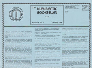 Numismatic Bookseller
