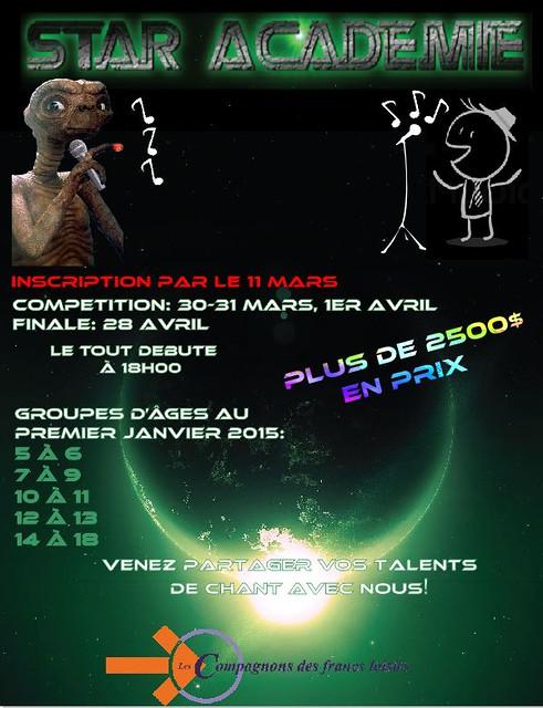 Star Académie 2015