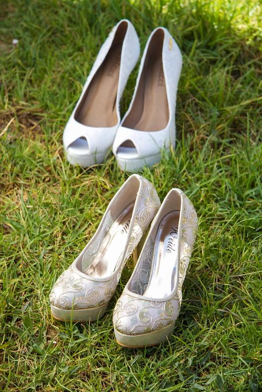 los zapatos de las novias