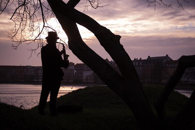 The Sunset Saxophonist