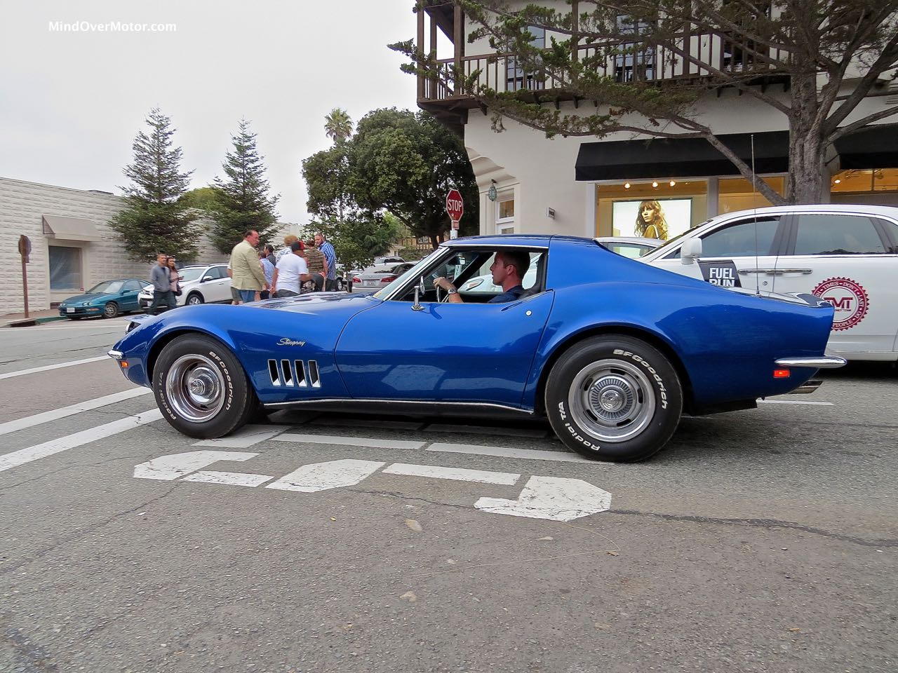 1969 Corvette Profile
