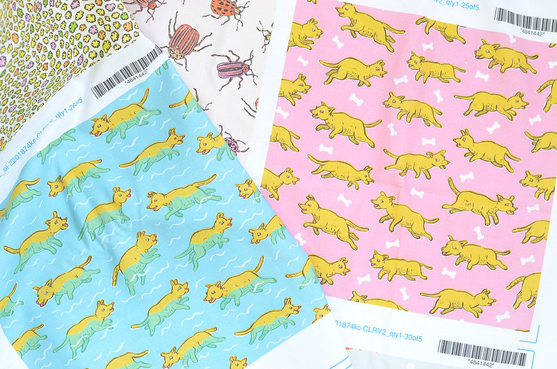 Spoonflower Swatches