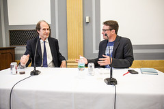 Jim Tankersley from the Washington Post moderates a discussion with Cass Sunstein
