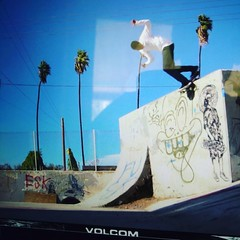 #holystokes #volcom #animalchin  #stencil #louielopez  spotted my stencil in the new video. Free streaming for 24hrs.