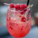 Summer Time Fling - Prosecco, st. germain, limoncello, aperol, raspberry, lemon