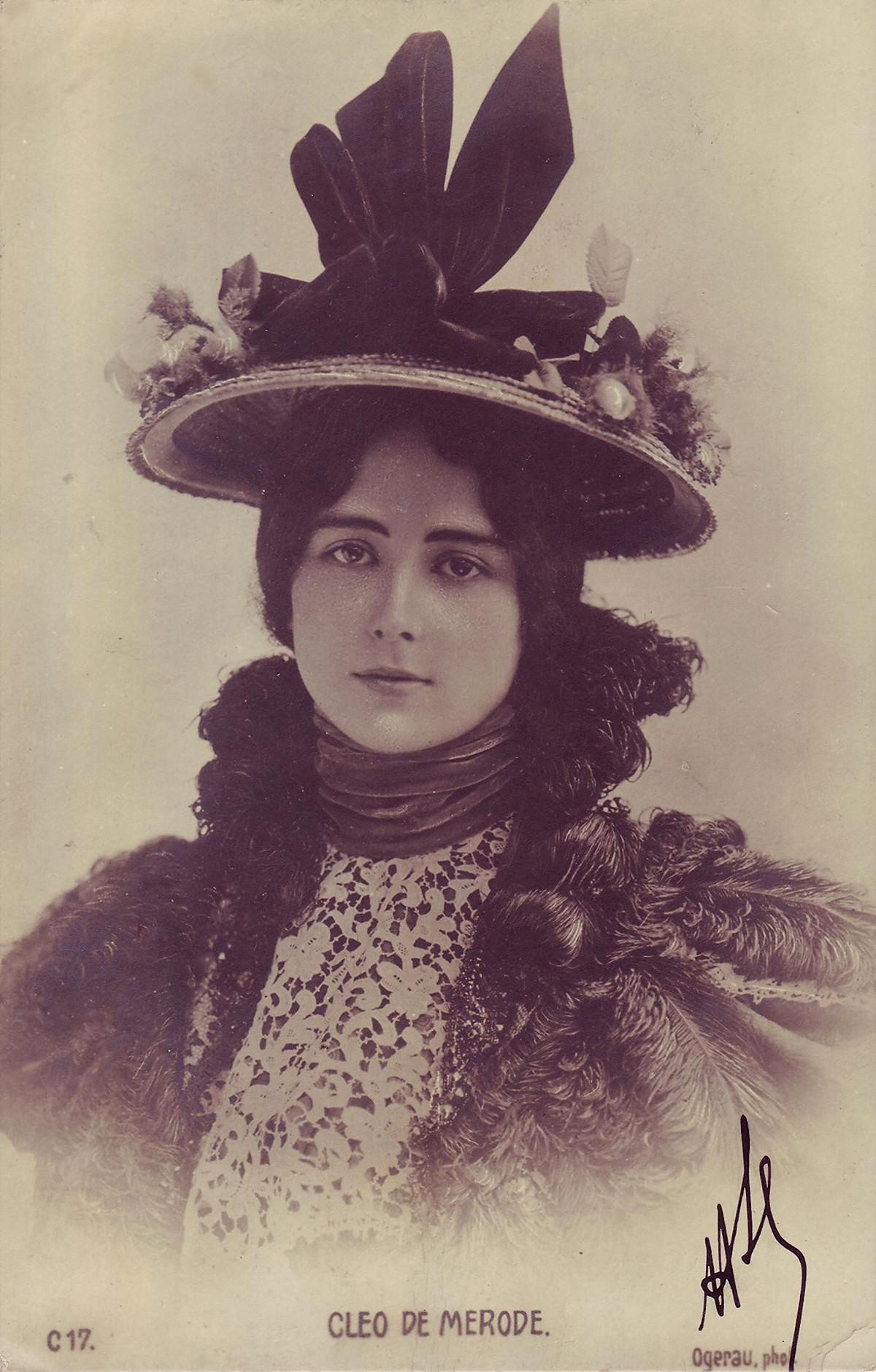 Cléo de Merode, by Charles Ogerau, 1902