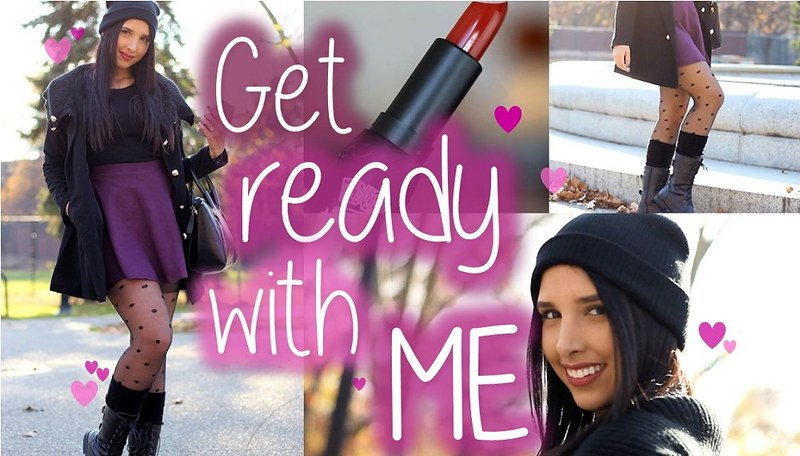 Get ready with me: Fall date!