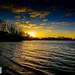 Priory Lake Sunset