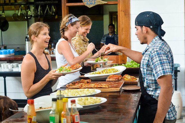 Farm to table food will nourish your mind, body and soul during the 30-day yoga teacher training program at Blue Osa