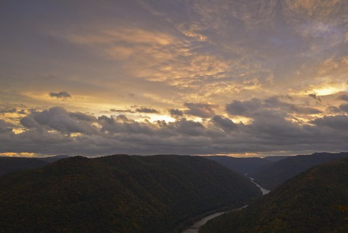 fall nature clouds sunrise landscape newrivergorge wondersofnature cloudsstormssunsetssunrises