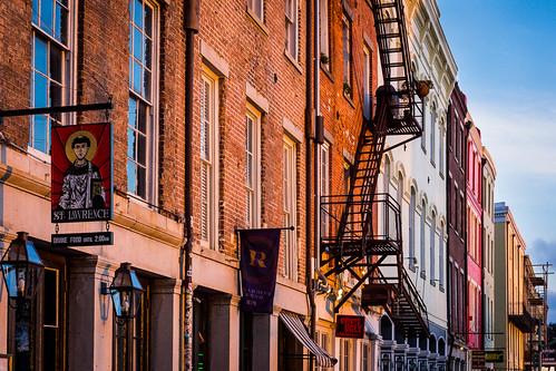 building window stairs louisiana unitedstates neworleans historic frenchquarter