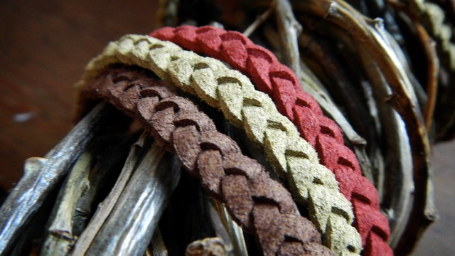 Braided Suede Bracelet 12