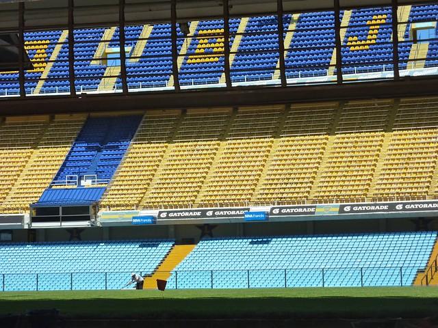 stadium shot