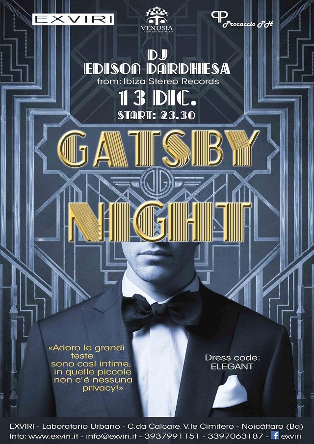 Noicattaro. Gatsby Night intero