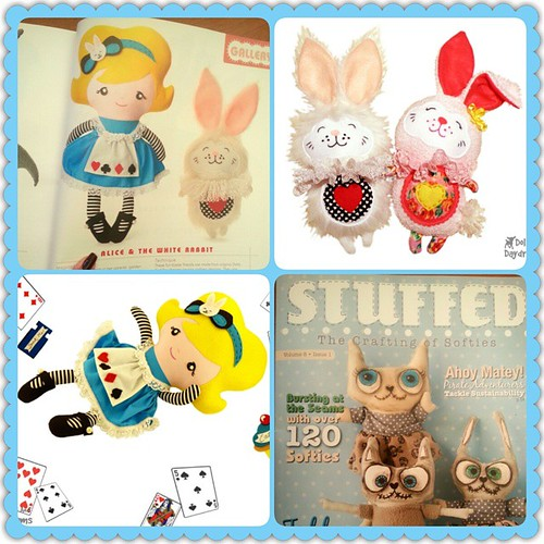 Stuffed doll softie magazine feature