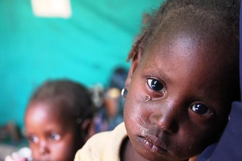 Nigerian refugees in Gagamari camp, Diffa region, Niger
