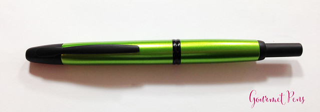 Review Pilot Vanishing Point Valley Green Fountain Pen @PilotPenUSA (1)
