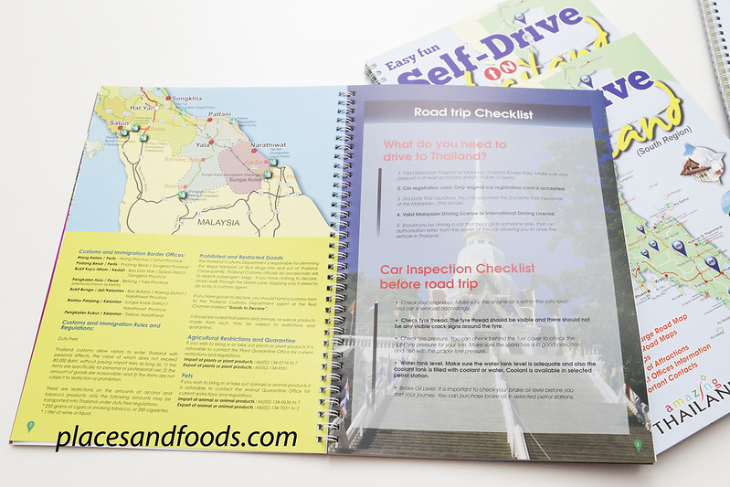 self drive in thailand guide book information
