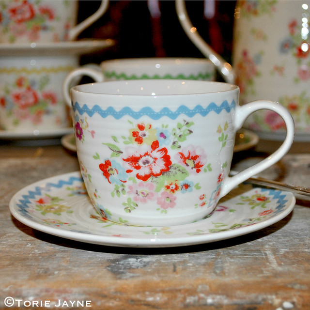 Cath Kidston teacup & saucer Spring Summer 2015