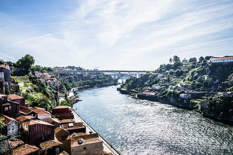 Rio Douro a Porto