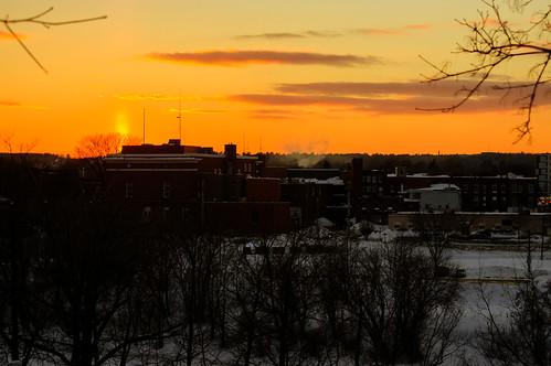 sunset sundown dusk snowy waterville hdr winslow pentaxf3570mmf3545 pentaxk3