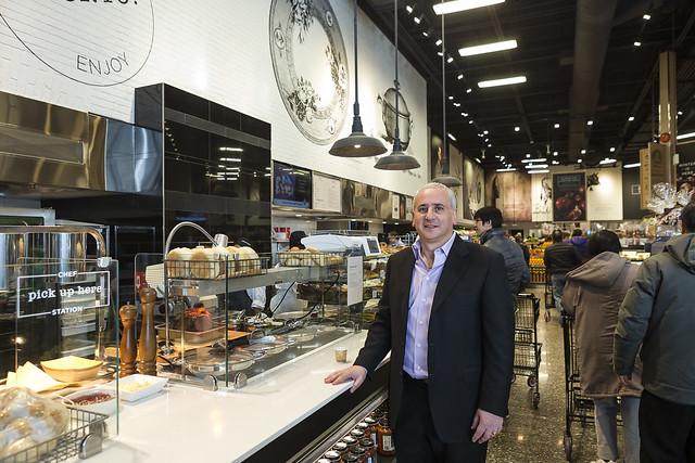 Michael-Angelo's Store Grand Re-Opening. December 20, 2014. Markham, Ontario, Canada. (photo: Vito Amati)