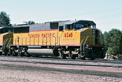 Union Pacific SD60M No. 6248 At Victorville