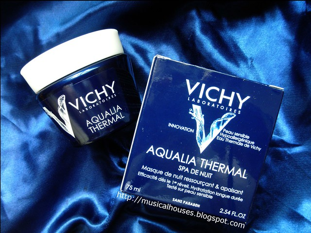 Vichy Aqualia Thermal Night Spa Sleeping Mask Jar
