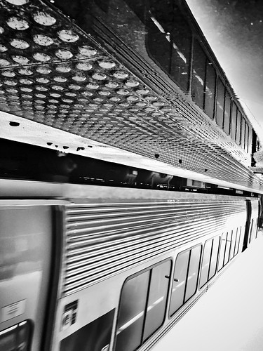 5/365 + 6/215 Ride (a train) to work day
