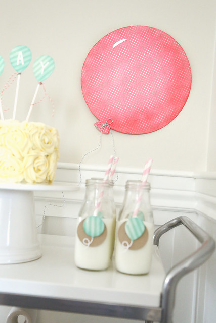 balloon party! {for lawn fawn}