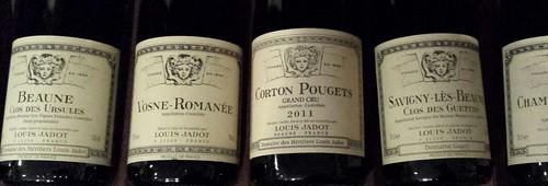 Louis Jadot Red Burgundy Wines