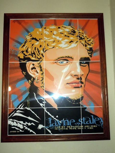 Layne Staley Poster